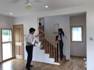 輸入住宅フロンティア完成見学会の画像